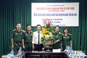 Văn hóa Kánh Loóng của người Thái ở huyện Mai Châu, tỉnh Hòa Bình