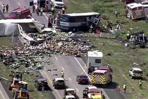 7 người thiệt mạng trong tai nạn do xe đầu kéo gây ra tại Mỹ