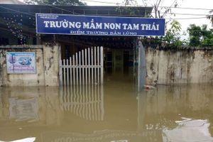 Bộ GD&ĐT có công điện khẩn về mưa lũ trước ngày khai trường