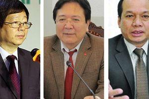 3 thứ trưởng nghỉ hưu từ ngày 1-9