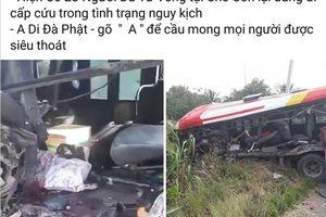 Sự thật vụ lật xe tại cửa khẩu Cầu Treo khiến hàng chục người tử vong