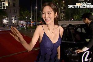 Sao nữ Đài Loan bị cắt sóng trên truyền hình vì mặc gợi cảm