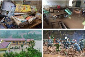 Trường học vùng lũ nỗ lực khắc phục hậu quả, đảm bảo khai giảng đúng dịp 5.9