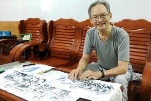Người cựu chiến binh dành cả cuộc đời để vẽ Bác Hồ