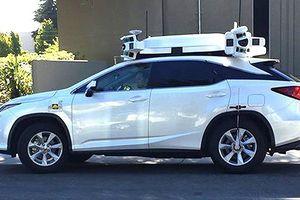 Xe tự lái mà Apple đang bí mật nghiên cứu vừa gặp tai nạn trên đường phố California