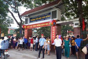 Ông Nguyễn Đức Chung chỉ đạo kiểm tra vụ tố lạm thu ở Sơn Đồng