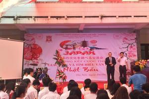 Học sinh Hà Nội hào hứng giao lưu và tìm hiểu văn hóa Nhật Bản