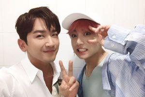 Flower Boy Bromance: Cuộc tái ngộ của Minwoo (SHINHWA) và Jungkook (BTS)
