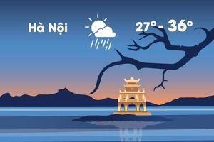 Thời tiết ngày 6/9: Hà Nội nắng nóng 36 độ C trước khi chuyển lạnh