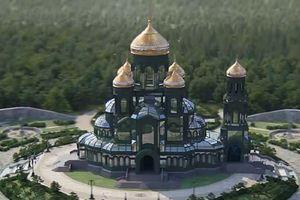 Thiết kế nhà thờ cho quân đội Nga: 'tên lửa Buk' hay 'Trò chơi vương quyền'?