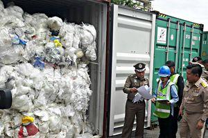 Thái Lan xuất trả hơn 2.000 container ma