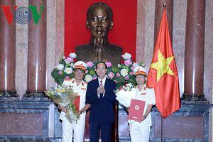 Chủ tịch nước trao quyết định bổ nhiệm 2 Phó Viện trưởng VKSND tối cao