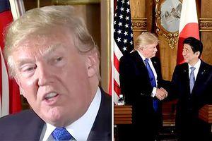 Tổng thống Mỹ muốn loại bỏ thâm hụt thương mại với Nhật Bản
