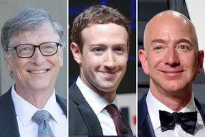 9 người giầu nhất giới công nghệ đều là tỷ phú tự thân