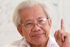 GS Hồ Ngọc Đại: 'Nhiều người lấy câu chữ vớ vẩn để phê phán tôi'