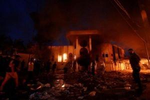 Người biểu tình đốt Lãnh sự quán Iran tại Iraq