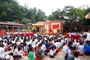 Đã khai giảng được năm học mới ở xã Mường Chanh