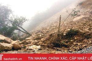 Cảnh báo lũ quét, sạt lở đất ở trung du, vùng núi Hà Tĩnh