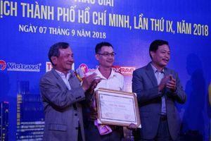 TP Hồ Chí Minh: Trao Giải thưởng Báo chí Du lịch lần IX năm 2018