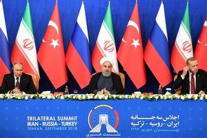 Bất đồng tại hội nghị thượng đỉnh ở Tehran: Putin gạt phăng đề nghị ngừng bắn của Tổng thống Thổ Nhĩ Kỳ