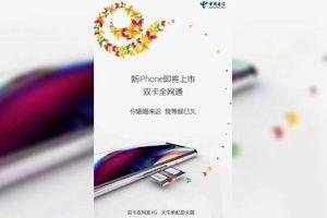 2 nhà mạng lớn nhất nhì Trung Quốc tung ảnh đầy ẩn ý về iPhone 2018 2 SIM