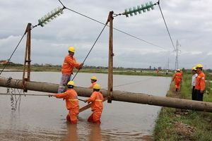 EVNNPC: Tháng 8, sản lượng điện thương phẩm tăng 6,49%