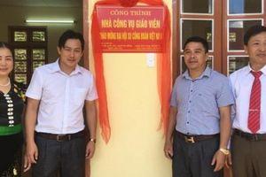 Sơn La: Trường vùng sâu, vùng xa có nhà công vụ mới