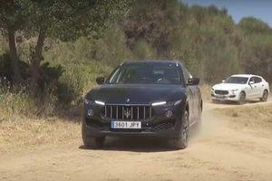 Bentley Bentayga và Maserati Levante đọ khả năng off-road