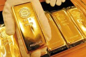 Giá vàng thế giới đi xuống phiên đầu tuần