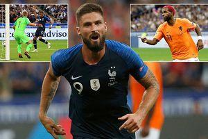 Giroud biết ghi bàn, Pháp thắng Hà Lan