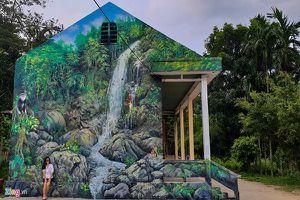 Quảng Ngãi – Làng bích họa giữa núi rừng hoang sơ