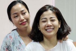 Diễn viên Mai Phương được xuất viện về nhà điều trị ung thư phổi
