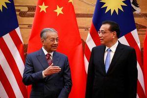 Malaysia tuyên bố hủy 3 dự án tỷ USD với Trung Quốc
