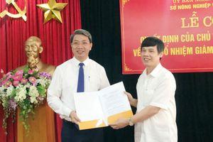 Thanh Hóa: Trao quyết định cho tân Giám đốc Sở Nông nghiệp và Phát triển nông thôn