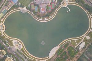 Clip:Công viên hồ điều hòa 300 tỷ mở cửa hoạt động sau 2 năm lỡ hẹn