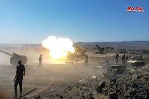 Mục kích Quân đội Syria dội 'bão lửa' diệt phiến quân IS ở Sweida