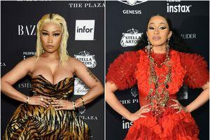Nicki Minaj lên tiếng sau vụ ẩu đả với Cardi B