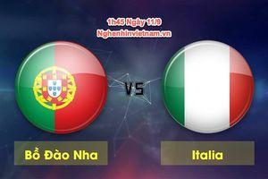 Bồ Đào Nha vs Italia, UEFA Nations League: thiếu vắng trụ cột