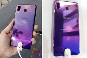 Samsung sẽ học cách phối màu gradient của Huawei trên A9 Star