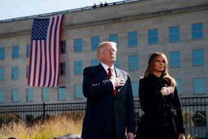 Nước Mỹ tưởng niệm các nạn nhân trong loạt vụ khủng bố 11/9