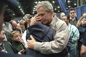 Video, ảnh mới tiết lộ: Phản ứng của cựu Tổng thống Bush sau vụ khủng bố 11/9