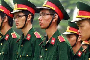 Trường Sỹ quan Chính trị thông báo xét tuyển bổ sung hệ Quân sự 2018