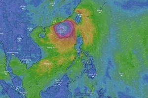 Dự báo ngày 12/9 về đường đi bão số 5 và siêu bão Mangkhut