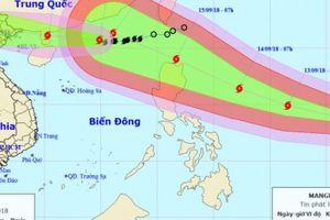 Tin bão mới nhất: Bão số 5, siêu bão MANGKHUT đổ bộ Việt Nam theo kịch bản nào?