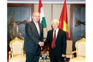 Nâng tầm đối tác toàn diện Việt Nam - Hungary