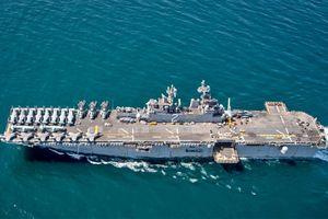 Bị Nga 'dọa', Mỹ vội điều tàu sân bay tới Trung Đông