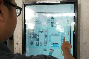 Nhiều bệnh viện TP HCM được phủ wifi, trạm chỉ đường cảm ứng