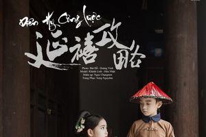 'Chất ngất' trước bộ ảnh cover Phó Hằng - Ngụy Anh Lạc của hai nhóc tỳ hot nhất Việt Nam