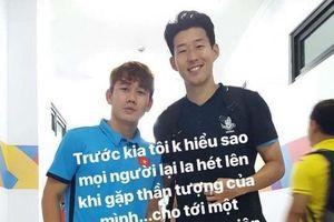 Fan 'ngã ngửa' khi biết thần tượng của Minh Vương chính là Son Heung-min