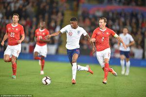 Toàn cảnh Anh 1-0 Thụy Sĩ: Song tấu Manchester phối hợp ghi bàn